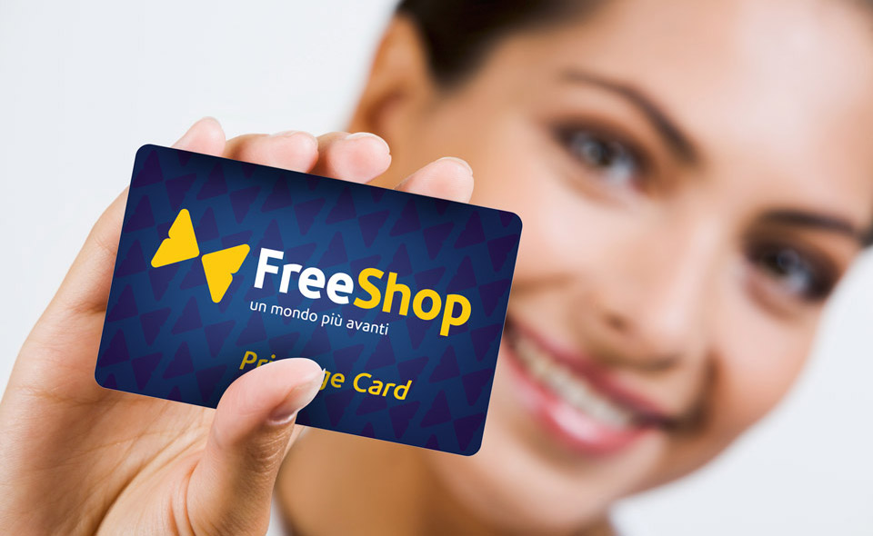Privilege card FreeShop