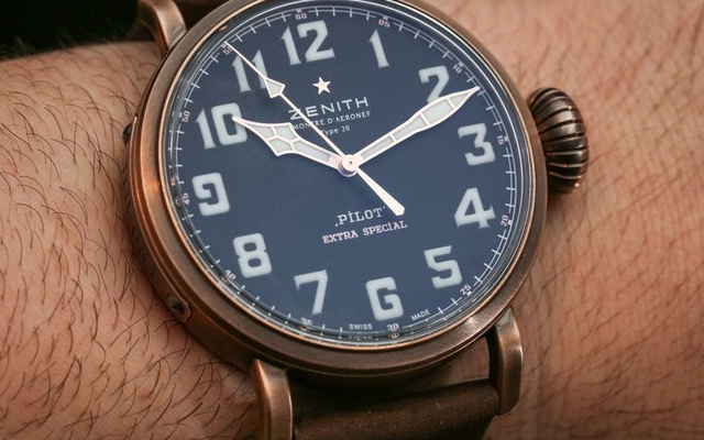 Zenith Pilot Type 20 Bronze Case
